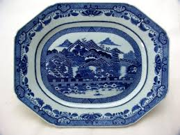 canton porcelain city of canton export porcelain large dish with