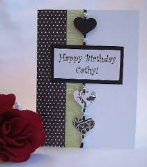 card invitation samples making birthday cards with black heart