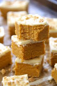 Pumpkin Bars With Crumb Topping Soft And Creamy No Bake Pumpkin Cheesecake Bites