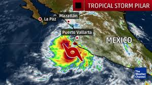 Weather Classic Map Tropical Storm Pilar Forms In The Pacific The Weather Channel