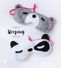 simple and sweet sleeping masks pysselbolaget fun easy crafts