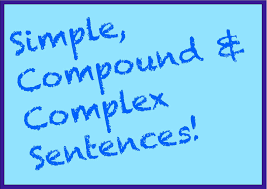 simple compound u0026 complex sentences part 1 spelling grammar