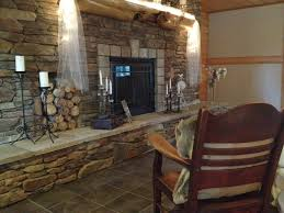 the barn at dunvilla fireplace loungel