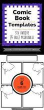 comic strip template printable kids activities education u003d fun