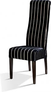 Black And White Striped Dining Chair Black Upholstered Dining Chair Set Of Upholstered Side Dining 2