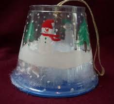 snowglobes make snow globe ornaments
