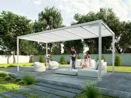 Pergola Gazebo With Adjustable Canopy by Pergola Kits