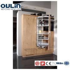 wood veneer tall unit pantry kitchen cabinets buy kitchen
