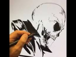 live drawing of ghost rider youtube