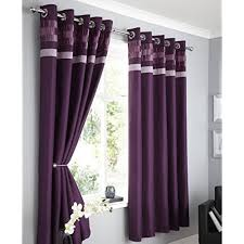purple curtains amazon co uk