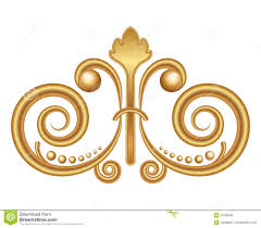 gold ornament royalty free stock photo image 34180945
