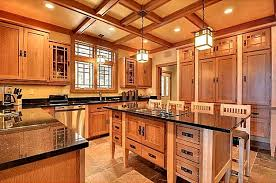 Prairie Style Kitchen Cabinets A New Craftsman Style House On Gull Lake In Minnesota Hooked On