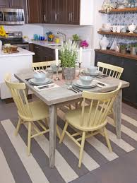 White Washed Kitchen Table by Coastal Kitchen Table Inspirations And Dining Room With Beachy