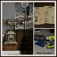 diy shabby decorator phone lamp archives hello i live here