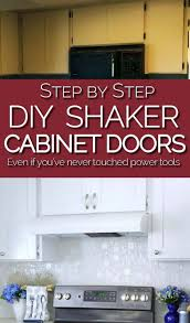 diy kitchen cabinets mdf make shaker kitchen cabinet doors on a budget kitchen