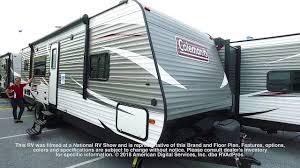 coleman travel trailers floor plans dutchmen coleman lantern conventional east 286rk youtube