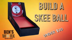 skee ball table plans build a skee ball for 30 arcade games youtube