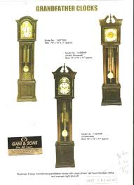 German Grandfather Clocks Grandfather Gani U0026 Sons