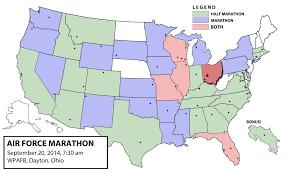 Dayton Ohio Map by Dayton Dan U0027s Marathon