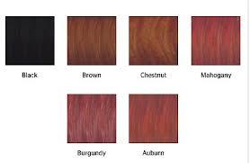 mahogany hair color chart natural colors henna hair color for gray coverage treasured locks