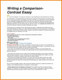 comparison and contrast essay sample bio essay related post of bio essay compare essay outline