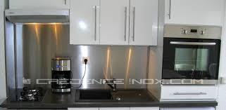 credence cuisine inox crdence cuisine inox plaque aluminium cuisine ikea plaque