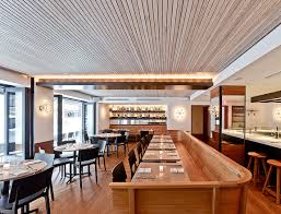 a kitchen bar at aka rittenhouse square