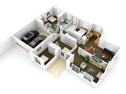 3d floor plan remodelling floor plan town houses renderings