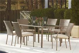 Aluminum Dining Room Chairs Furniture Attractive Aluminum Patio Furniture For Outdoor Room