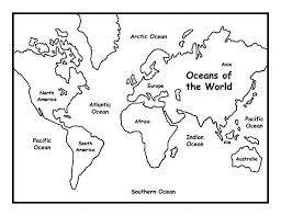 world map coloring pages printable aecost net aecost net