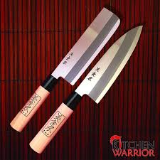 Japanese Kitchen Knives Japanese Kitchen Knife Set 2 Shimomura Kitchen Warrior Usa
