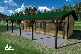 24 u0027 x 48 u0027 shed row horse barn plans home planning pinterest