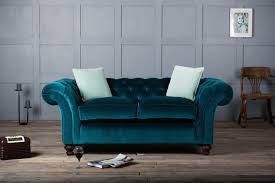 Blue Velvet Chesterfield Sofa by Velvet Sofa 4891