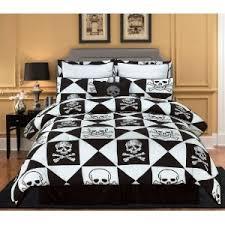 Black Comforter King Size Skull Bedding We Buy Cheaper