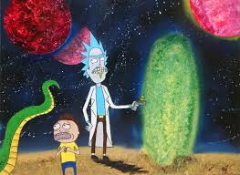 rick and morty trees