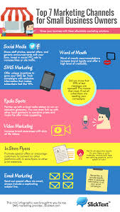 Small Business Email Solutions by Infographic Top 7 Marketing Channels For Small Business Owners