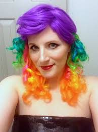 red wigs for halloween how to make that cheap plastic wig look good ashley f miller