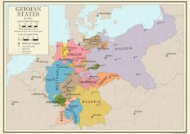 German States Map by Balance Of Power 1871 German States By Coryca On Deviantart