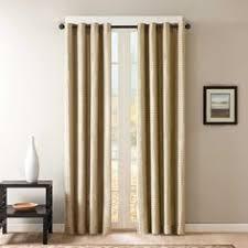 Alton Solid Grommet Window Curtain Panel Buy Dkny Duet Grommet 108 Inch Window Curtain Panel In Platinum