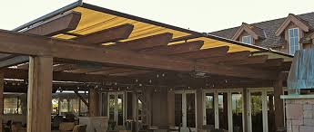 Retractable Pergola Awning by Structure Awning Over Pergola From Innovative Openings In