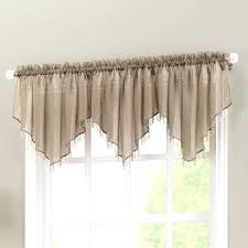 Sheer Curtains With Valance Scala Crushed Voile Panel From Curtains Direct Crushed Sheer Voile