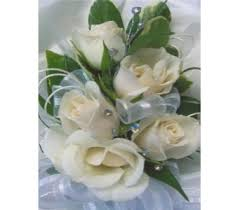 white corsages for prom prom corsage delivery west bloomfield mi happiness is flowers