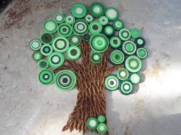 How To Make Wall Decoration At Home by Green Tree Wall Art Paper Tree Wall Decor Green Wall Hanging