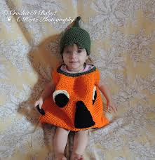 baby pumpkin costume ravelry pumpkin costume hat age 1 3 years pattern by