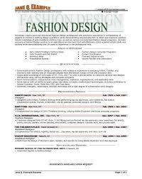 Best 25 Fashion Resume Ideas by Fashion Design Resume Template Billybullock Us