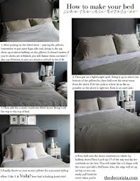 How To Set A Bed How To Make Your Bed The Hotel Way The Decorista