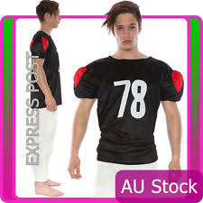 Mens Football Halloween Costumes American Football Player Costume Ebay
