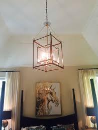 Lantern Kitchen Lighting by Soho 1 Hanging Light Copper Lantern Kitchen And Foyer Light