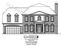 colonial style house plans house plan house plans by garrell associates inc