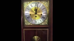 Barwick Grandfather Clock Howard Miller Wall Clock Youtube